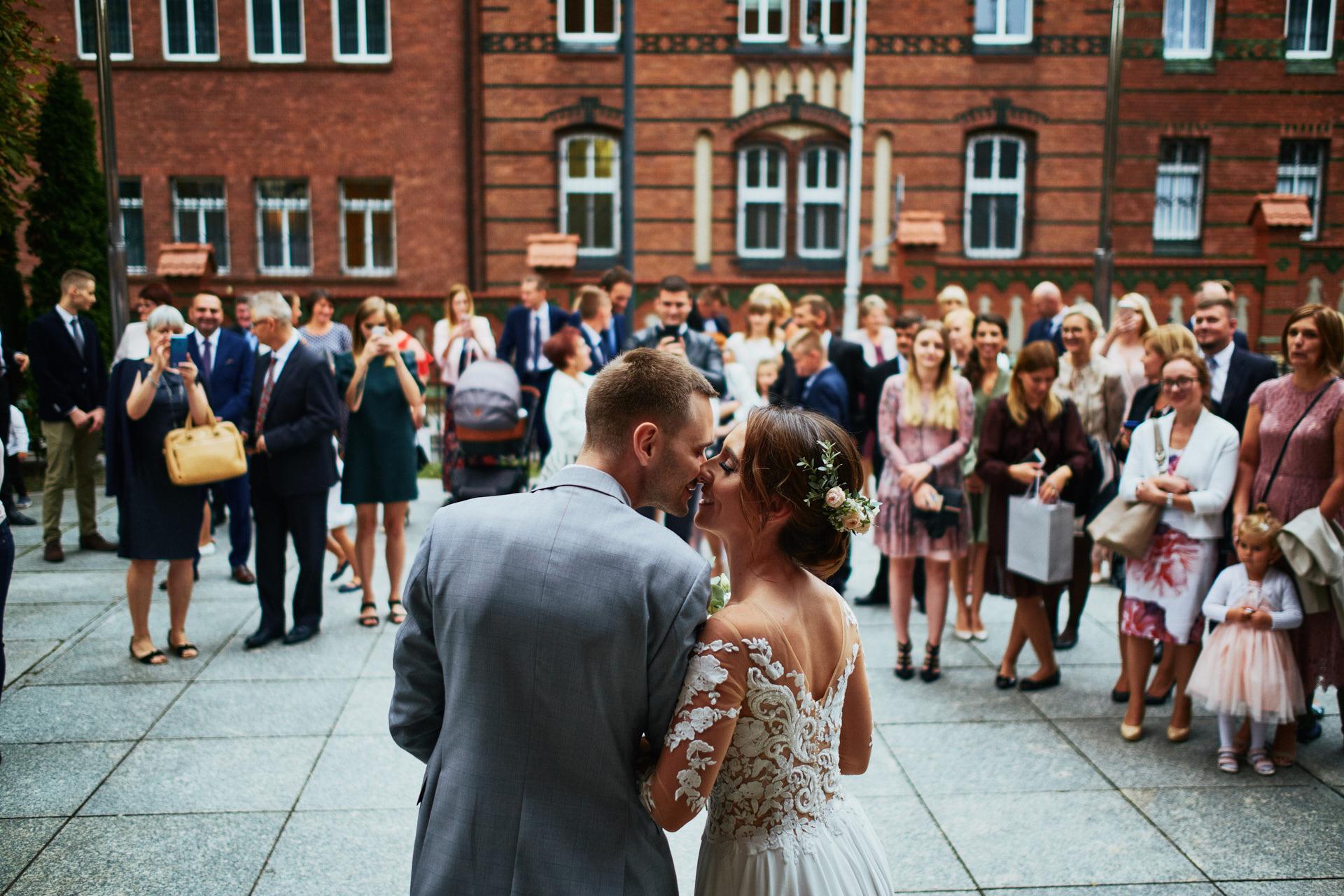 fotografia ślubna wykonana na Śląsku